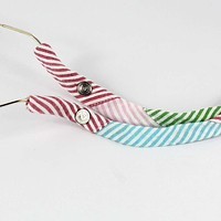 Limited Edition *Country Club Prep Exclusive* Patchwork Seersucker Sunglass Straps by CottonSnaps