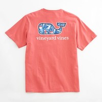 Sailing Waves Whale Pocket T-Shirt