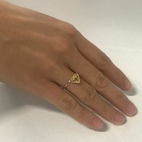Bikini Luxe Gold Diamond Ring