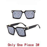 LV Louis Vuitton Summer Newest Popular Women Men Cool Shades Eyeglasses Glasses Sunglasses 3#