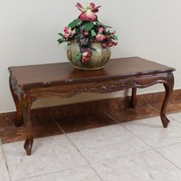 International Caravan Windsor Hand-carved Wood Coffee Table | Overstock.com Shopping - The Best Deals on Coffee, Sofa & End Tables
