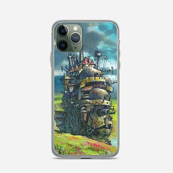 Howls Moving Castle Artwork iPhone 11 Pro Case
