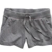 Aerie Women's Fleece Short (Dark Heather Grey)