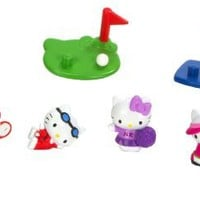 Blip Squinkies Hello Kitty Bubble Pack - Series 6 - Sports with Tiny Toys