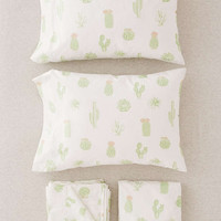 Cactus Sheet Set - Urban Outfitters