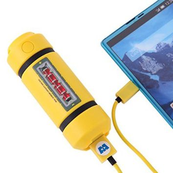Disney Monsters INC Energy Tank Cell Phone Battery Charger USB 2900mAh from Japan