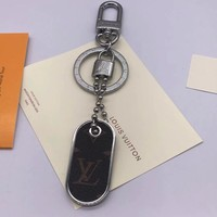 Louis Vuitton Lv M63618 Monogram Id Tab Bag Charm And Key Holder Style 3 - Best Deal Online