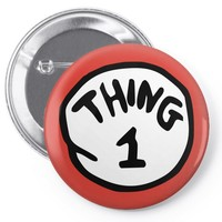 thing 1 Pin-back button