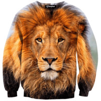 Lion Head Crewneck
