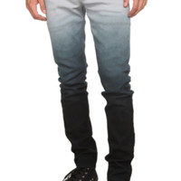 RUDE Grey Ombre Skinny Jeans