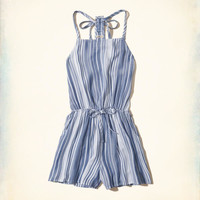 Girls T-Back High-Neck Romper | Girls New Arrivals | HollisterCo.com