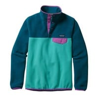 Patagonia Women's Lightweight Synchilla® Snap-T® Pullover | Howling Turquoise