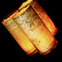 The Hobbit candle hoder --Thorin's map -- lord of the rings map -- JRR Tolkien --gifts for ringers --The hobbit movie