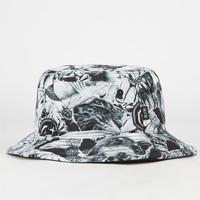 Rook Scraps Mens Bucket Hat White One Size For Men 24214515001