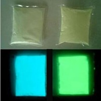 White color Luminous powder phosphor powder 100g Acrylic paint decorating material Glow Powder Paint Glow Green yellow light.