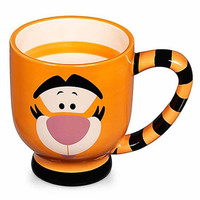 disney parks striped tigger ceramic coffee cup mug new