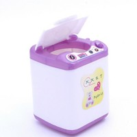 Doll Accessories Display Furniture Washing Machine Water dispenser For Barbie Doll House For Monster High dolls Baby Toys Gift