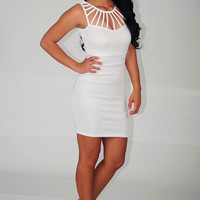 Come To The City Dress: White