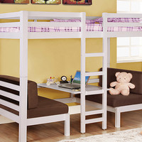 White Convertible Loft Bed | something special every day