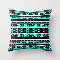Mix #452 Throw Pillow by Ornaart