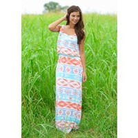 Where The Tide Goes Maxi Dress