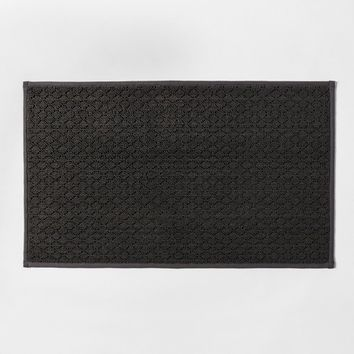 Solid Diamond Weave Kitchen Rug - Made By Design™