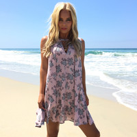 Pink Is Chic Floral Dress