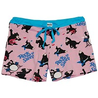 Bear Rock Me To Sleep Juniors Boxer Shorts