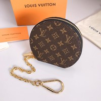KUYOU LOUIS VUITTON M63598 jacquard key chain can be used to make shoulder strap extension chain for bags