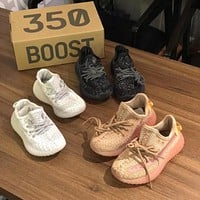 Kids Adidas Yeezy Boost 350 v2 Sneakers