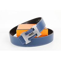 Hermes belt men's and women's casual casual style H letter fashion belt588