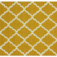 One Kings Lane - The Chic Boutique - Addor Rug, Gold