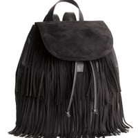Backpack with Fringe - from H&M
