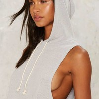 Kick Back Hooded Top