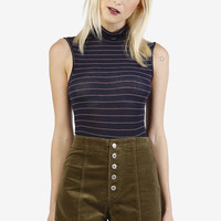 Barrymore Corduroy High Rise Shorts - Olive
