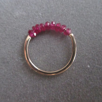 14Kt Gold Ruby Ring
