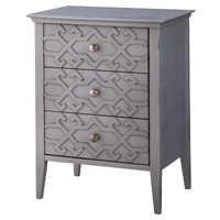 Threshold™ Fretwork Accent Table