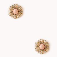 Glam Floral Studs