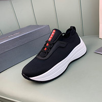 2021 New PRADA Men's Fashion Breathable Platform Casual Running Sneakers Sports Shoes