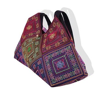 Handmade Embroidery ethnic Shoulder Women's Bags