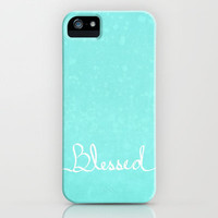Blessed iPhone Case by Lisa Argyropoulos | Society6