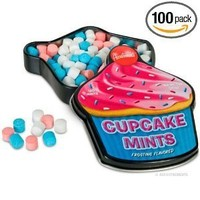 Accoutrements 130 Count Cupcake Flavored Mints Novelty