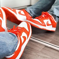 "Nike Sb Dunk Low ""Syracuse"" low-top skateboard shoes"