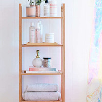 Bamboo Tiered Shelf   Urban Outfitters