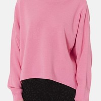 Topshop High/Low Knit Sweater