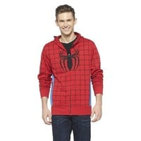 Men's Spiderman Halloween Costume Fleece Hoodie