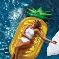HUGE Inflatable Pineapple Pool Float