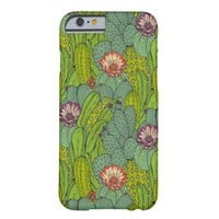 Desert Cactus Plant Pattern Barely There iPhone 6 Case