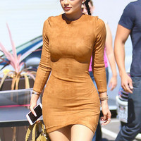Kylie Jenner's Signature Suede Dress