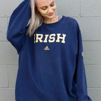 """Irish"" Adidas Vintage Sweatshirt"